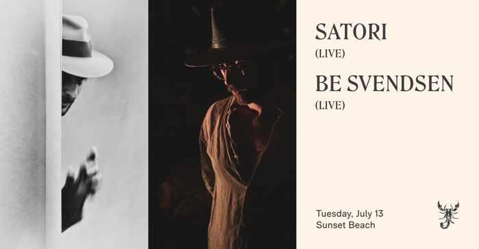 Scorpios club Mykonos presents Satori and Be Svendsen