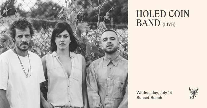 Scorpios Mykonos presents Holed Coin Band