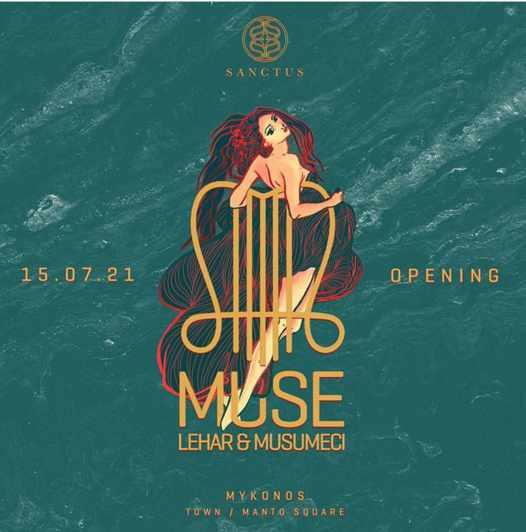 Sanctus Mykonos club opening party July 15 2021