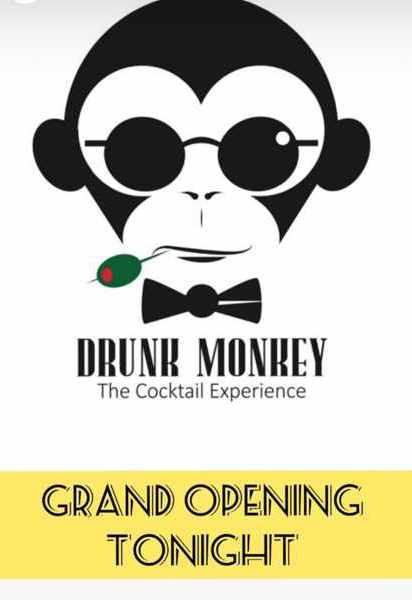 July 20 2021 grand opening announcement for Drunk Monkey Mykonos