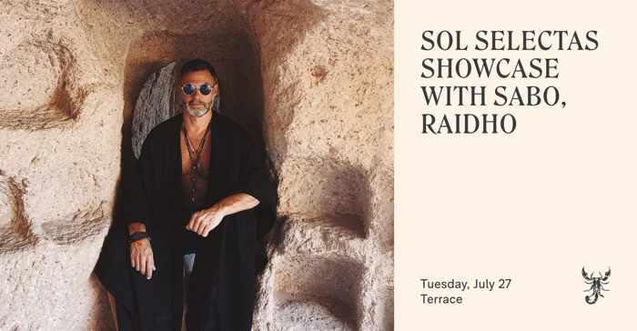 July 27 2021 Sol Selectas Showcase at Scorpios Mykonos