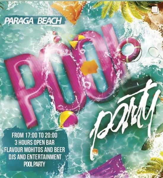 July 27 2021 pool party at Sueno Pool Bar Mykonos
