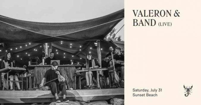Valeron & Band at Scorpios club Mykonos