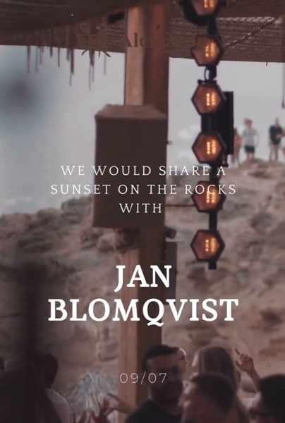 Alemagou beach club Mykonos presents Jan Blomqvist