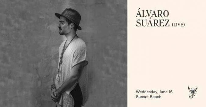 June 16 2021 music ritual featuring Alvaro Suarez at Scorpios Mykonos
