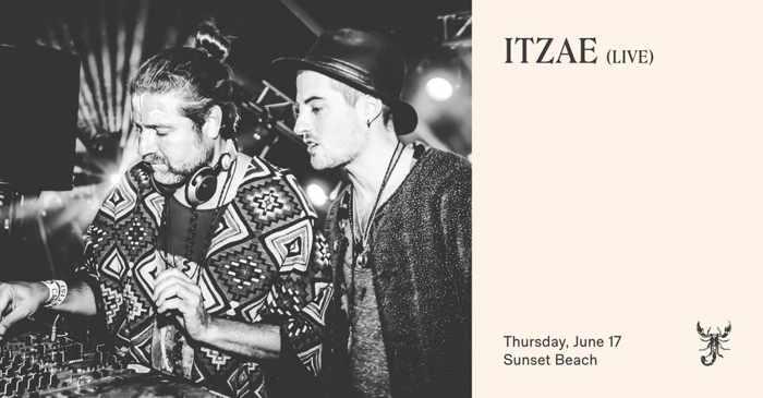 June 17 2021 music ritual with Itzae at Scorpios Mykonos
