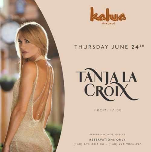 Kalua Mykonos presents DJ Tanja La Croix