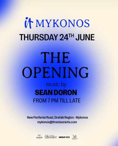 IT Mykonos opening announcement for 2021