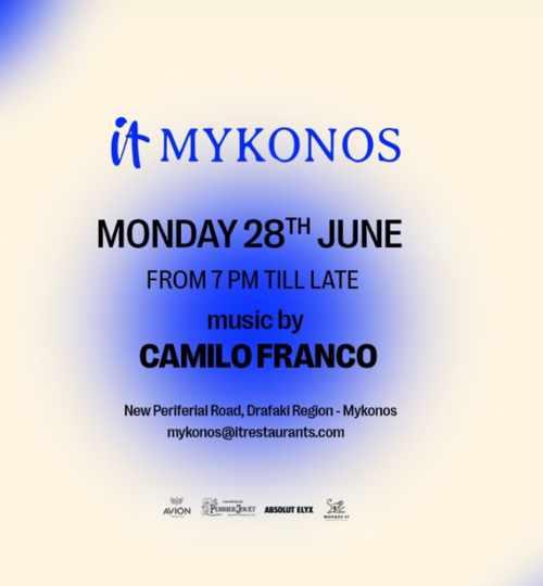 IT Mykonos event on June 28 2021