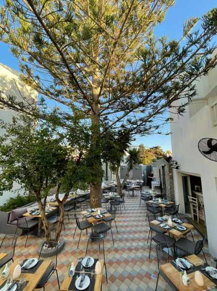 Kalita Mykonos dining patio seen in an image from the restaurants social media pages