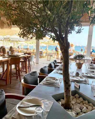 Kuzina restaurant on Mykonos