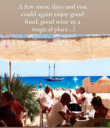 Liasti beach club Mykonos