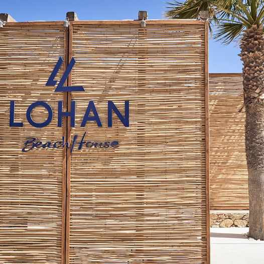 Lohan Beach House image shared on social media to announce the end of the clubs 2021 season