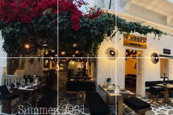 Lotus Resto Bar in Mykonos