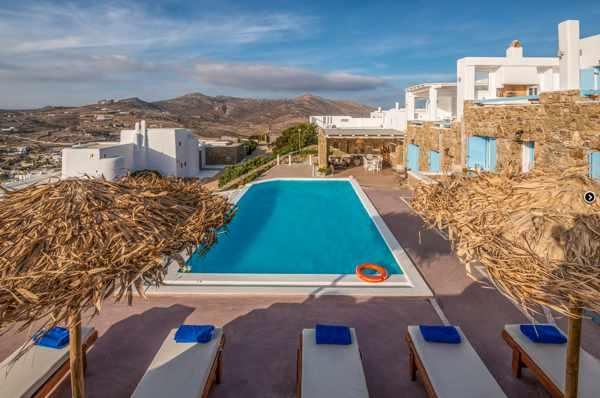 Manolia View apartments and villas on Mykonos