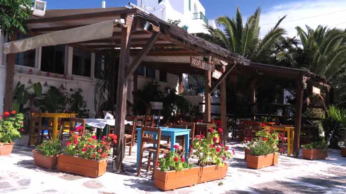 Marias Mykonian Restaurant in Mykonos Town