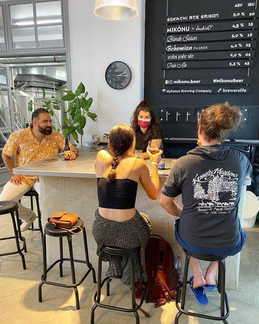 Mykonos Brewing Company taproom