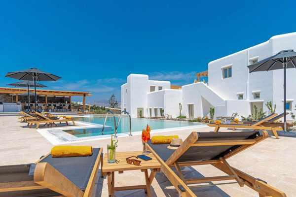 Mykonos Cactus hotel swimming pool
