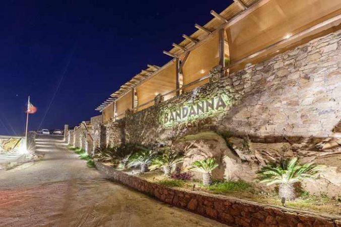 Bandanna restaurant on Mykonos