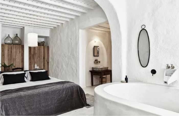 A room at Nomad Mykonos hotel