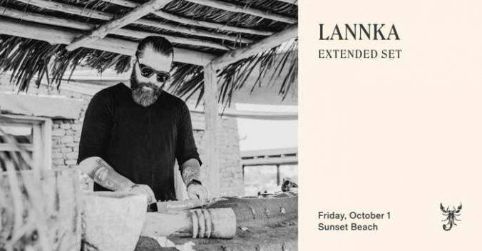 October 1 2021 Scorpios Mykonos sunset ritual with Lannka