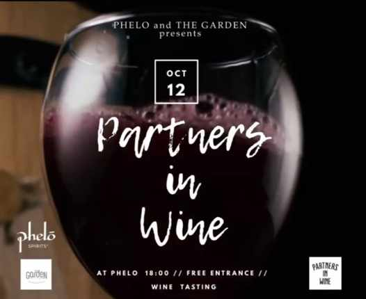 October 12 2021 Partners in Wine event at Phelo Mykonos