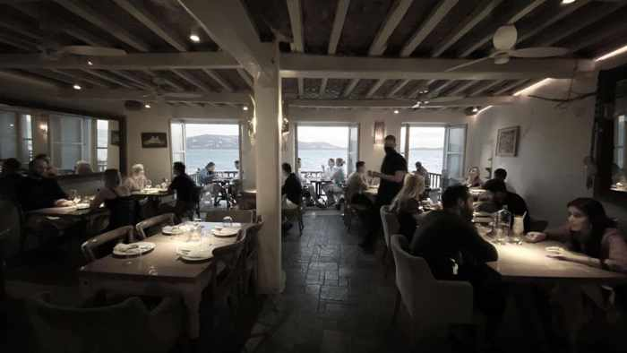 October 17 2021 Kastros restaurant Mykonos season closing announcement
