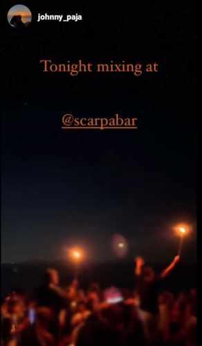 October 4 2021 Scarpa Bar Mykonos presents DJ Johnny Paja