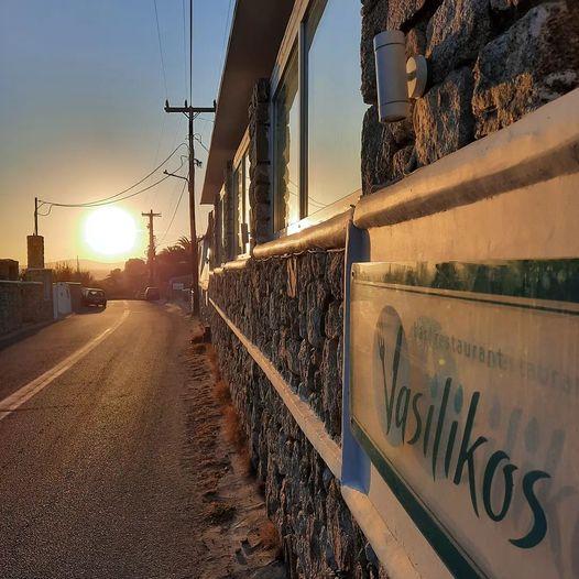 October 5 2021 Vasilikos restaurant Mykonos season closing announcement