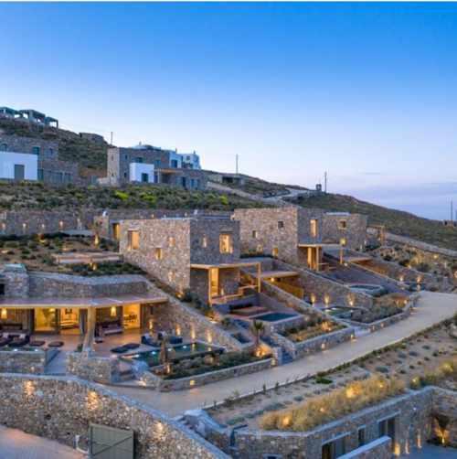 Panormos Bay Luxury Suites on Mykonos