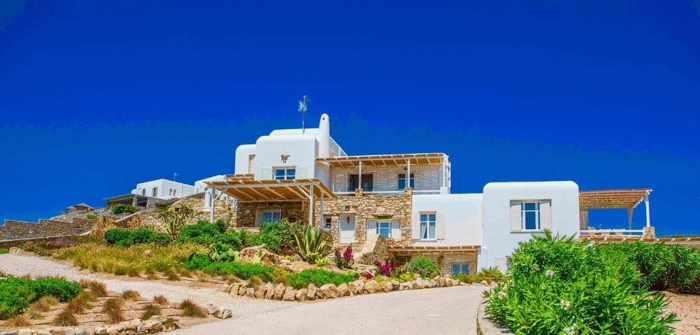 Salty Houses Mykonos exterior view
