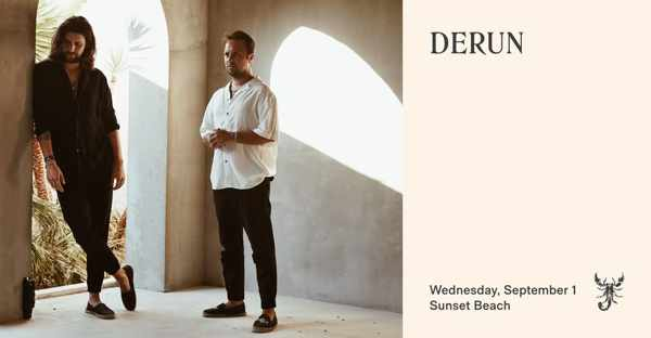 September 1 2021 Scorpios Mykonos sunset situal with Derun