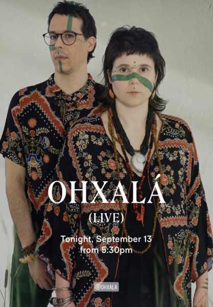 September 13 2021 Scorpios beach club on Mykonos presents Ohxala