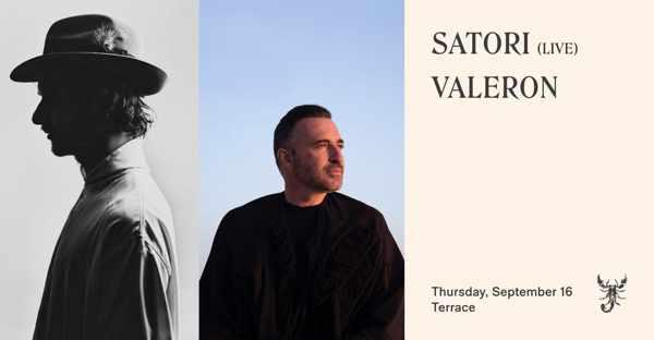 September 16 2021 Scorpios beach club Mykonos presents Satori and Valeron