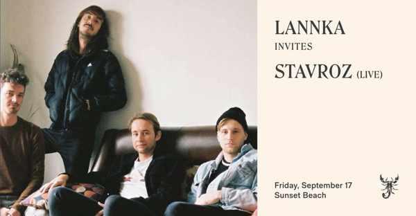 September 17 2021 Lannka Invites Stavroz at Scorpios beach club on Mykonos