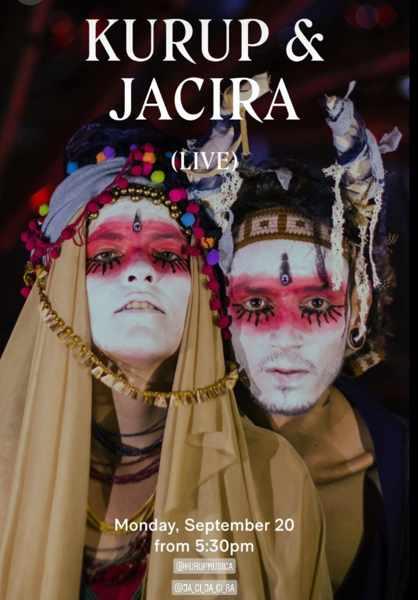 September 20 201 Kurup & Jacira perform at Scorpios Mykonos