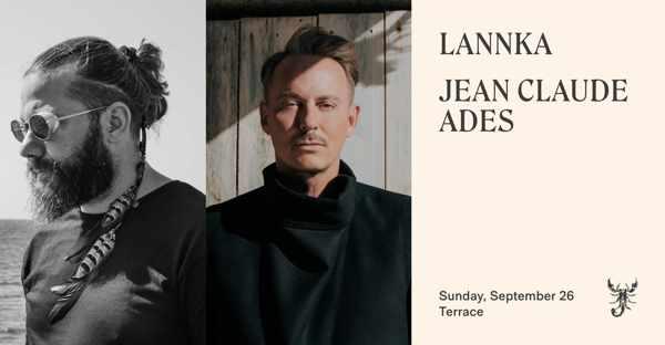 September 26 2021 Scorpios Mykonos presents Lannka and Jean Claude Ades