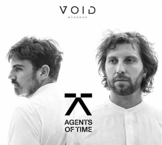 September 5 2021 Void club on Mykonos presents Agents of Time