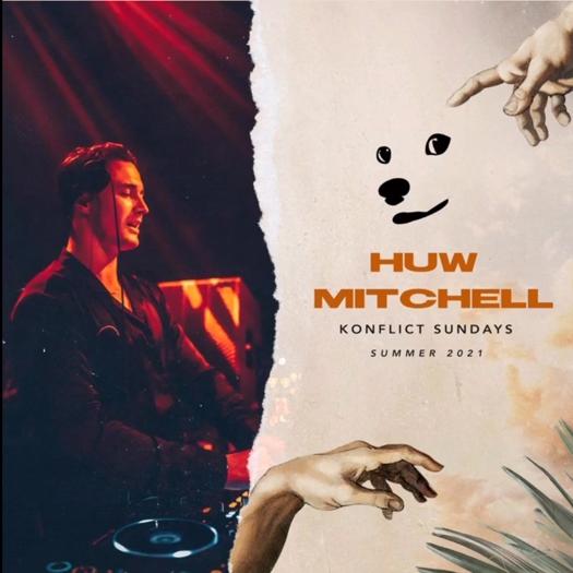 Shiba nightclub Mykonos presents Konflict Sundays with DJ Huw Mitchell during summer 2021
