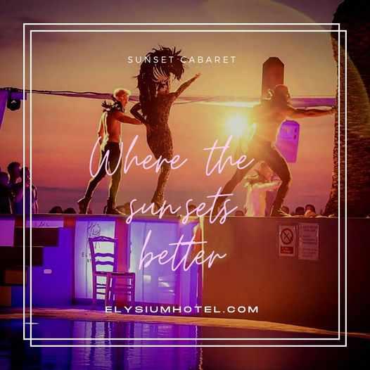 Sunset Cabaret shows at Elysium Hotel on Mykonos