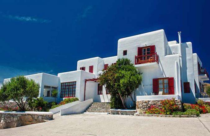 Charissi Hotel on Mykonos