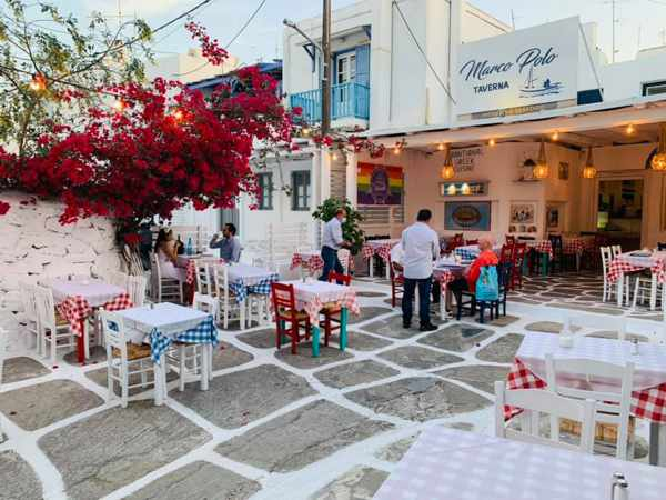 Marco Polo Taverna in Mykonos Town