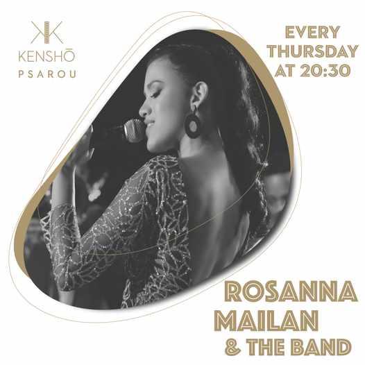 Kensho Psarou hotel presents singer Rosanna Mailan