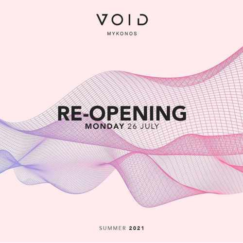 Void club Mykonos reopening announcement