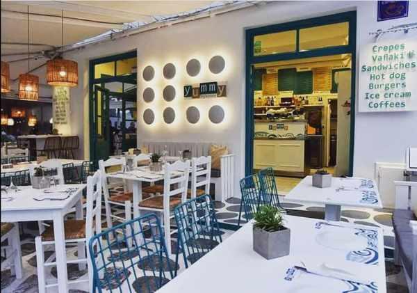 YummyMykonos restaurant on Mykonos