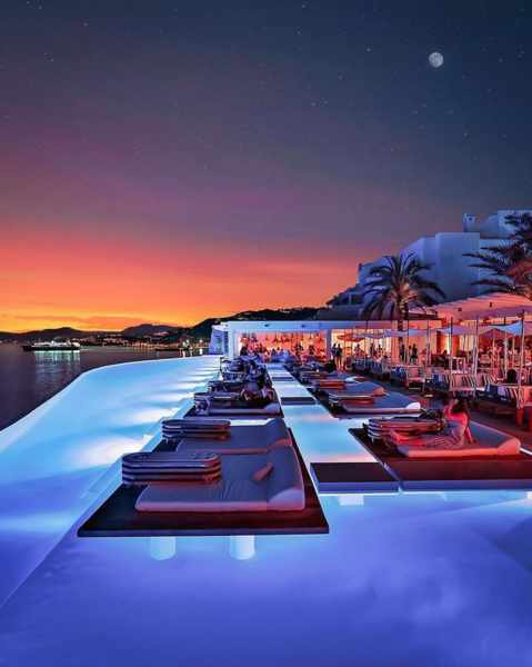 Zuma restaurant bar and lounge in Mykonos seen in an image from its social media pages