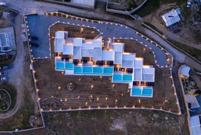 Agrari Black Villas on Mykonos