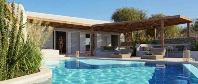 Photo of a 1 bedroom villa at Bill & Coo Hotel on Mykonos