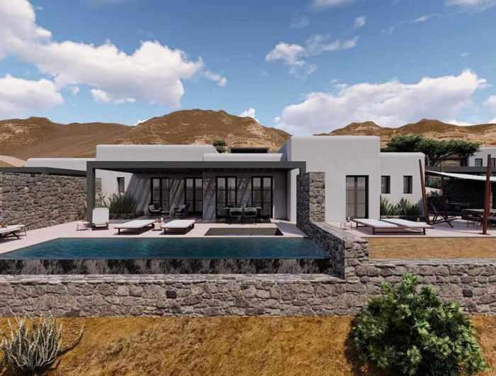 Image showing one of the villas at Bonzoe Homes & Villas on Mykonos
