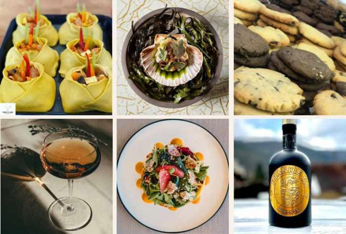 Food and drink items from businesses new to Mykonos in 2021